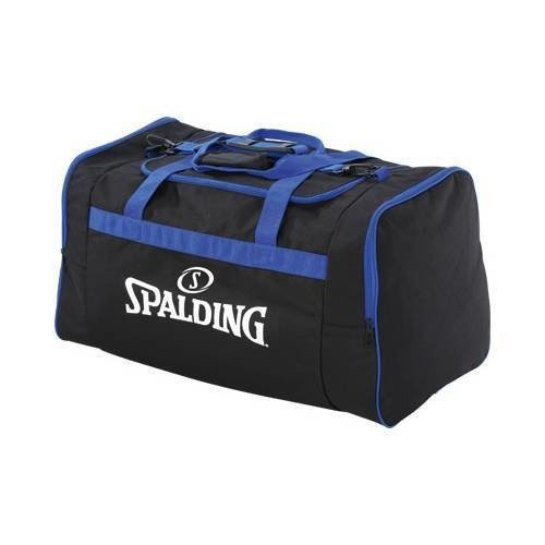 90fdc2eb98b5f Torba sportowa duża Spalding Basketball Team czarno-niebieski ...