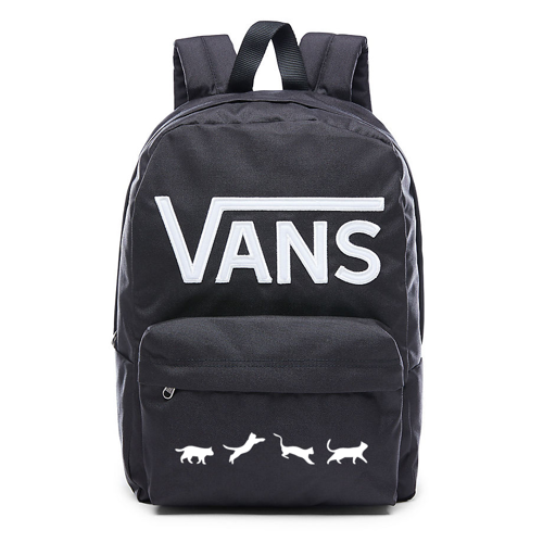 VANS - New Skool Backp Backpack Custom Cats - VN0002TLY28