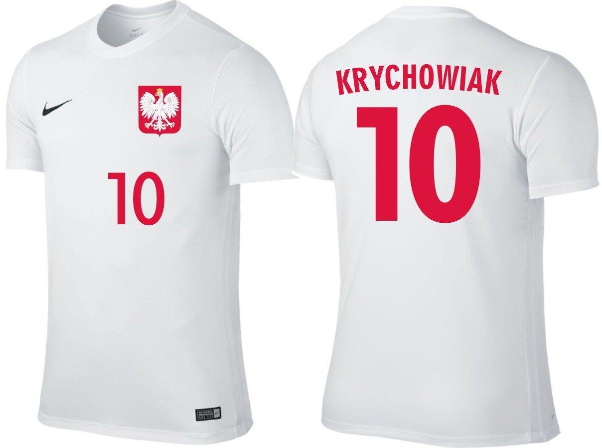 ae816e0c2246 Koszulka Nike Grzegorz Krychowiak 10 Reprezentacja Polski Krychowiak ...