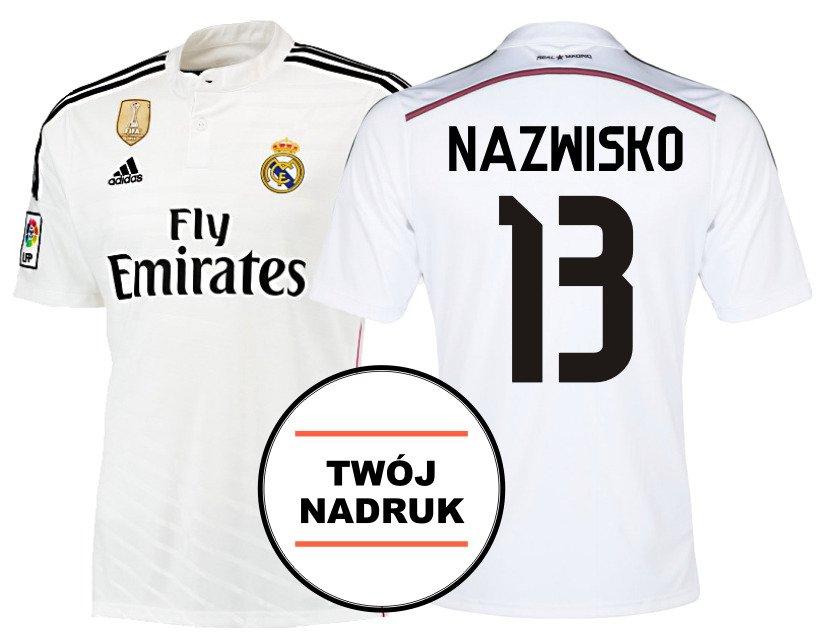 fd3d6632b2c0b Twój nadruk · Koszulka meczowa Adidas Real Madryt Twój nadruk XL ...