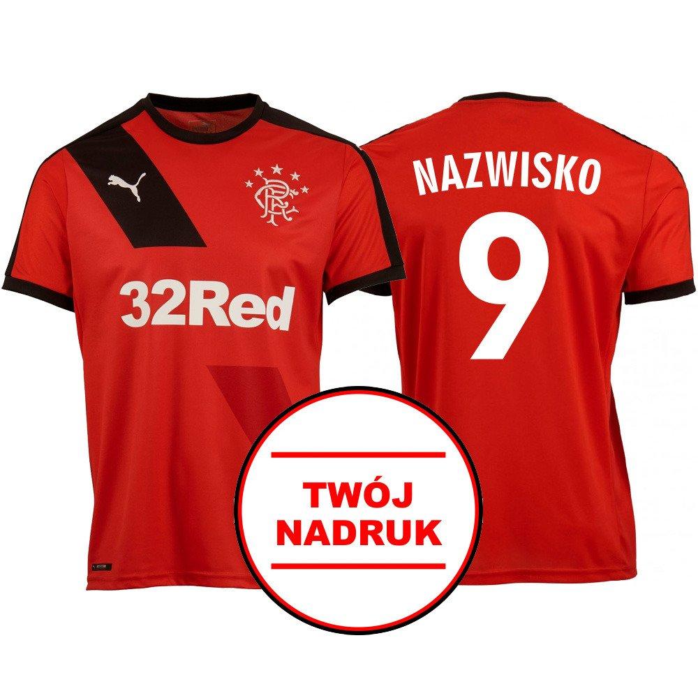 bbc8a75df Twój nadruk · Koszulka piłkarska PUMA Rangers Glasgow Football Soccer Away  Shirt z nadrukiem - 747834-05 ...