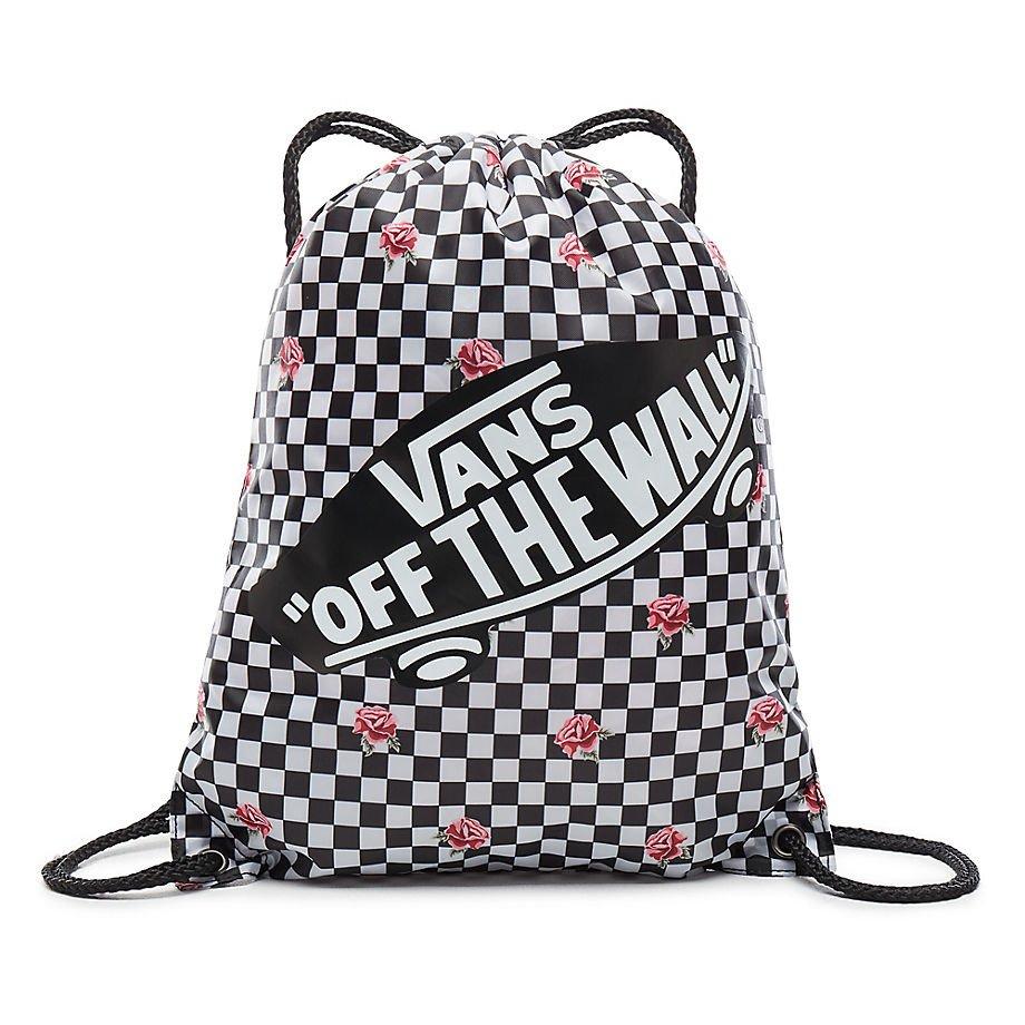 73d9eed73681c ... Plecak VANS Realm Black & Rose Backpack VN0A3UI6RDU + Worek Szkolny;  Worek VANS Women's Benched Bag - VN000SUFYFK 000 ...